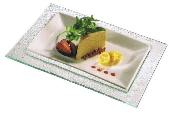 Glazen buffet schaal, schalen   accessoires   Buffetschaal van glas