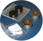 mirror mounting set