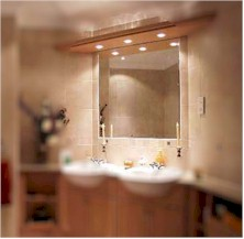 Badkamer-spiegel met verwarming