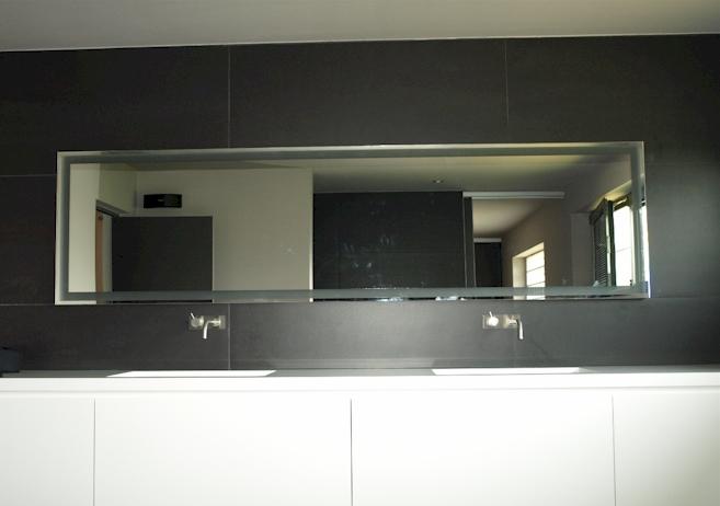 Led spiegel op maat for Spiegel badkamer verlichting