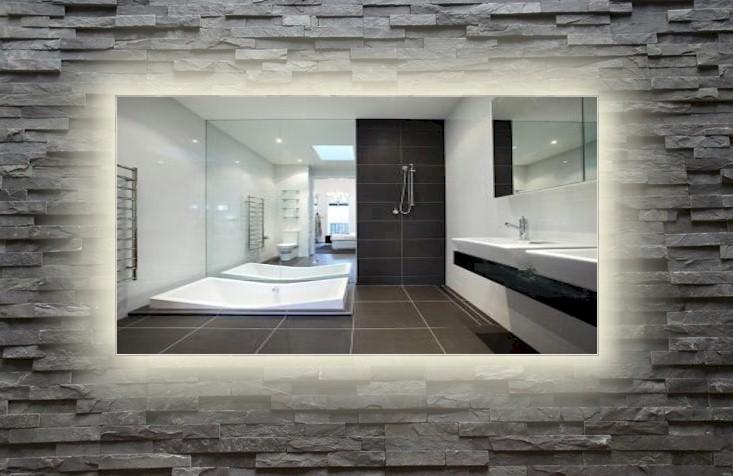 Badkamer Spiegels Met Verlichting : LED spiegel met LED-verlichting ...