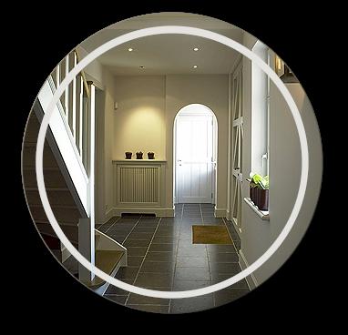 kleine spiegel op maat kleine ronde vierkante. Black Bedroom Furniture Sets. Home Design Ideas