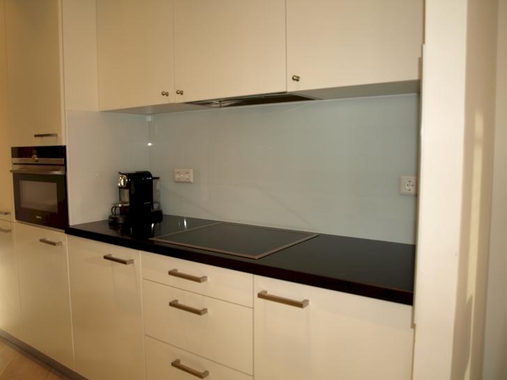 Industriele Keuken Te Huur : Keukenwand glas amsterdam glazen keukenachterwand