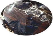Mahogany Obsidian - natural glass