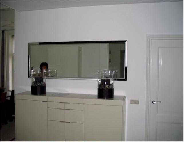 Spiegel op maat gemaakt moderna hall 2 spiegel maatwerk - Spiegel voor ingang ...