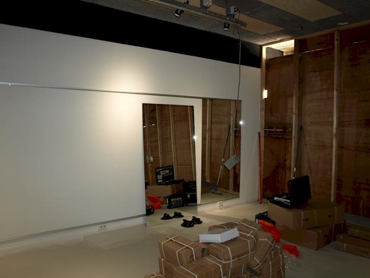 Spiegelwand eindhoven fitnessruimte for Spiegel 2x1m
