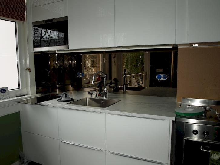 Achterwand keuken amsterdam spiegelwand keuken - Geloof spiegel keuken ...