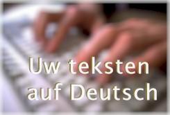 Vertaling Duits - Nederlands - Duits