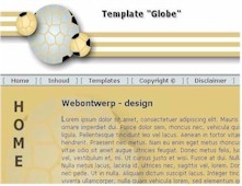 CSS Template Globe - Vision2Form Design