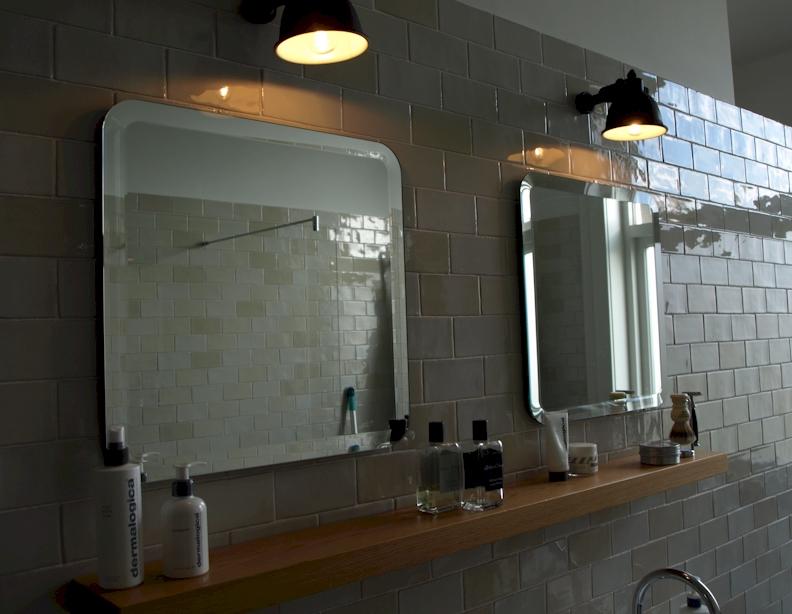 Badkamerspiegel op maat, spiegels voorbeelden