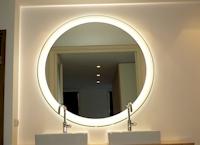 Ronde Spiegel Groot : Spiegels op maat wandspiegels badkamerspiegels en halspiegels