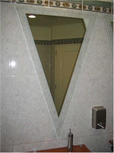 Triangle Wall Mirror