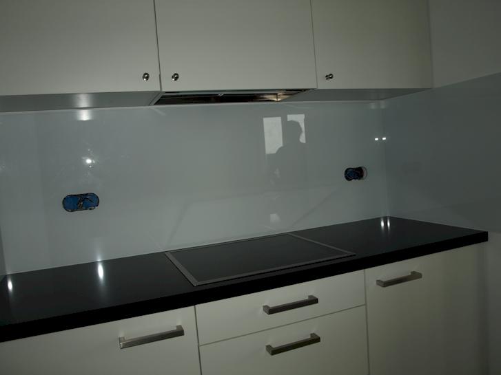 Glad Keuken Achterwand : Glasplaat keuken ikea