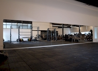 grote spiegelwand fitness Middelharnis