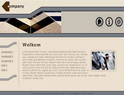 Vision2Form Webdesign - Template design - Building