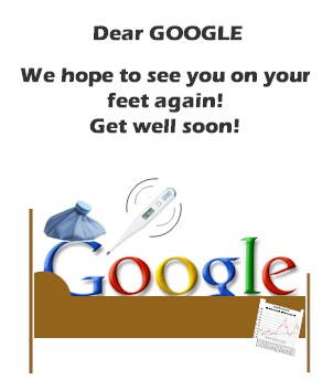 Get well card for Google